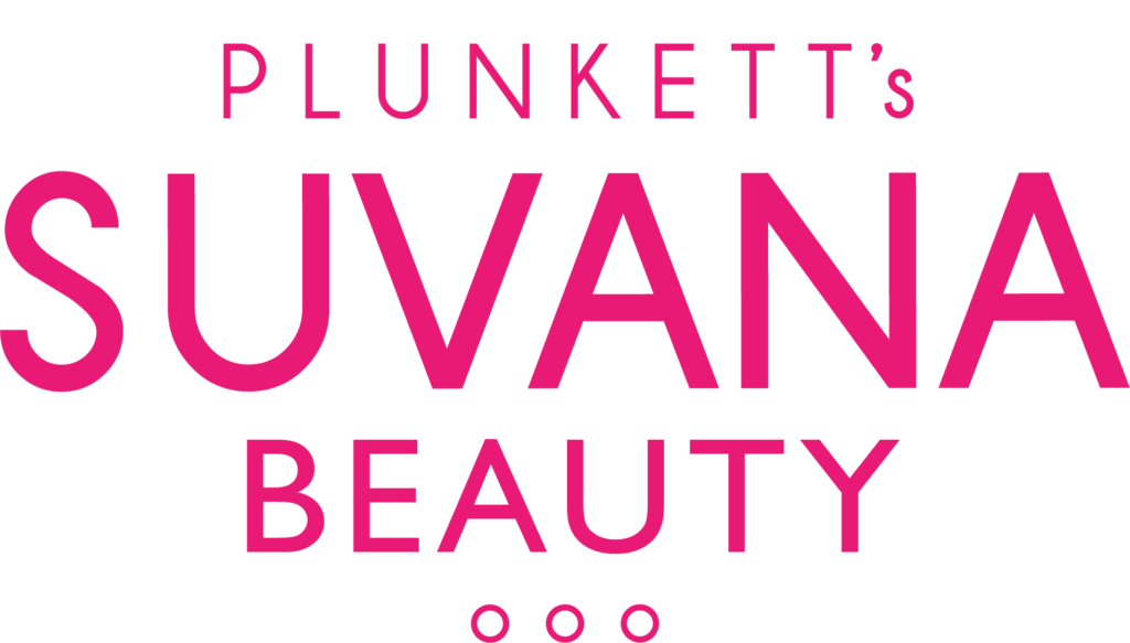 Plunketts Suvana Beauty logo without flower